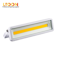 LTOON-luz LED para exteriores, lámpara de techo de 50 W, 100 W, 150 W, 200 W, W, IP65, proyector de luz gazon