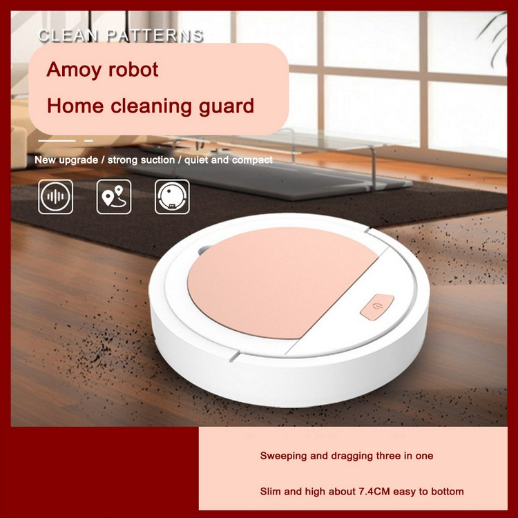 Vacuum-Cleaner Cleaning Robot Household Dustproof Automatic Obstacle Avoidance Usb-Charging