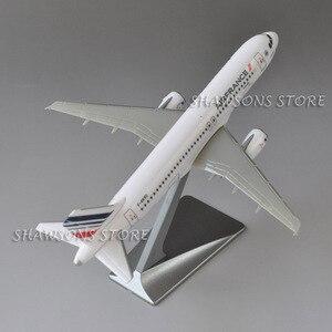 Image 5 - 1:200 בקנה מידה מטוסי דגם צעצוע אוויר אוטובוס A320 אוויר צרפת מטוס מטוס העתק מיניאטורי אוסף