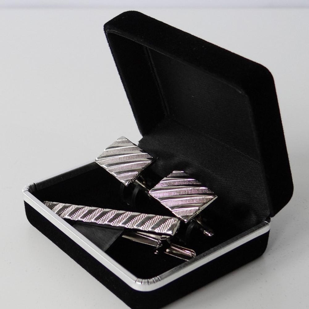 Cufflinks Jewelry Storage Organizer Case Cuff Link Package Display Box Holder New Jewellery Box Rangement Bijoux