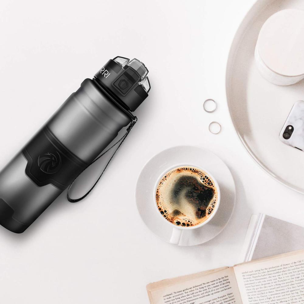 ZORRI travel bottles botella de agua con filtro  Protein Shaker Outdoor Travel Portable Leakproof Tritan plastic Bottle BPA Free|Water Bottles| |  - AliExpress