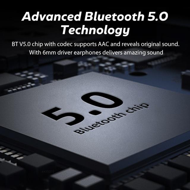 TWS Bluetooth 5.0 Earphones Waterproof Headset With Microphones Sport Earbuds 3