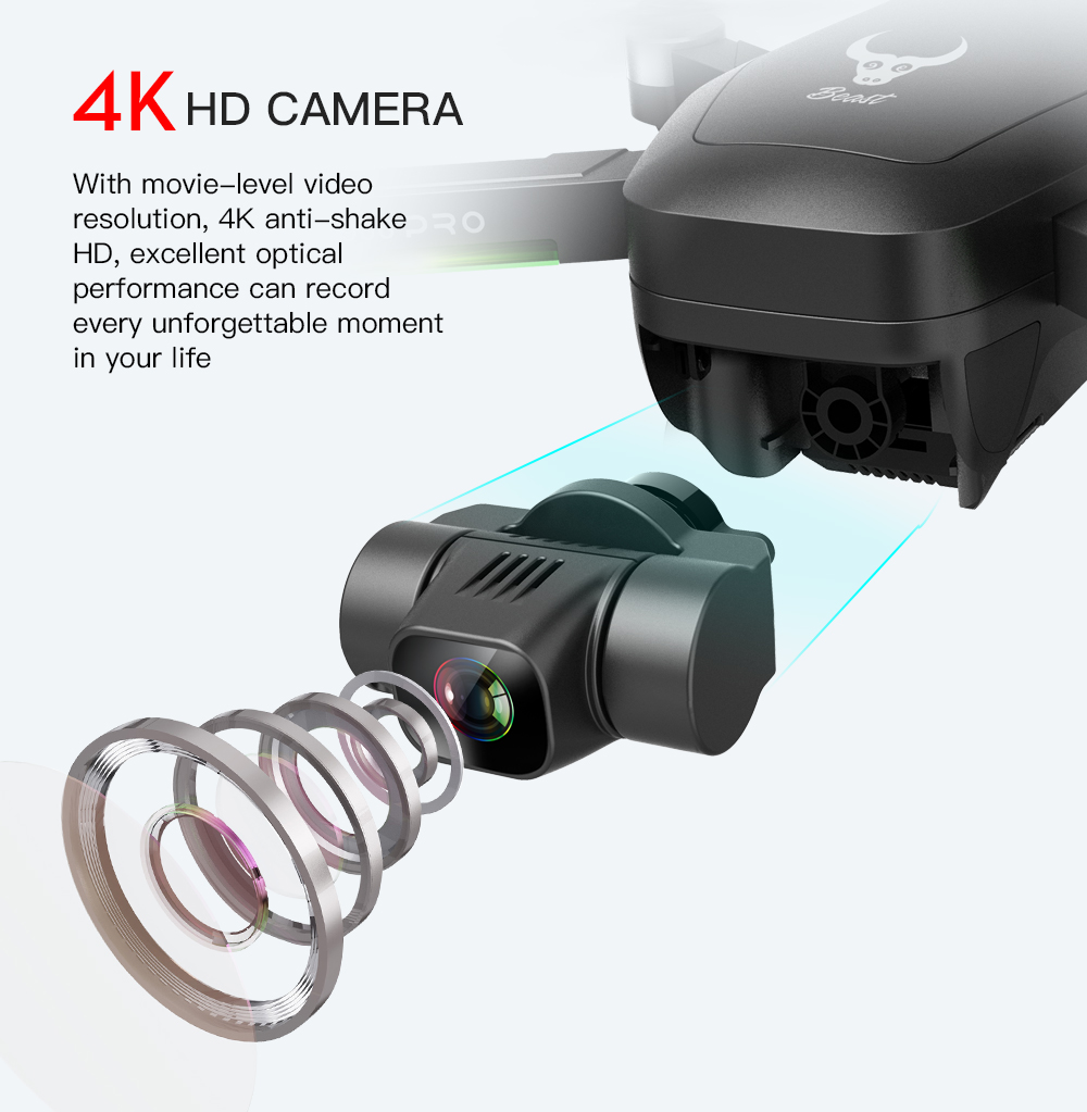 Image 2 - SG906 Pro GPS Drone 4k Two axis shock absorbing Gimbal 5G WIFI Supports SD card Professional drones 1.2km Distance VS X35 L109RC Helicopters   -