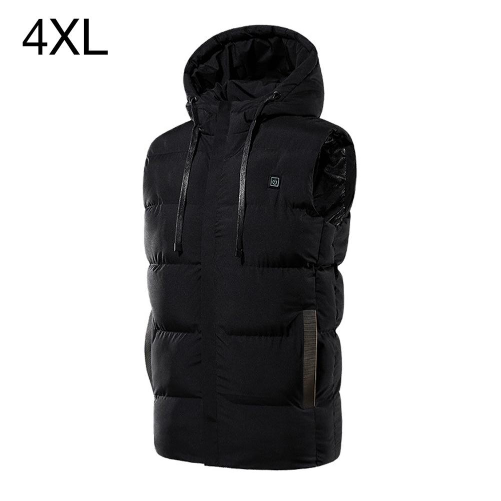 roupas mulher homem inverno ao ar livre casaco quente preto M-3XL