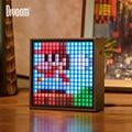Divoom Timebox Evo Bluetooth портативный динамик с будильником  программируемый светодиодный дисплей для создания пикселя  уникальный подарок