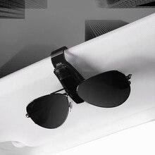 Clip Glasses Cip-Holder Car-Sun-Visor Auto Portable Fastener Card Universal-Case-Box