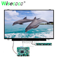 цена на 14 inch screen 1920*1080 FHD TFT LCD antiglare display with HDMI usb driver board  for laptop tablet notebook computer display