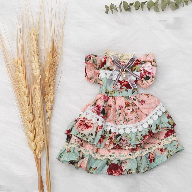 Nuevos accesorios de muñeca BJD de 26cm, vestido de muñeca de 10 pulgadas para ropa de muñeca, vestido DIY para niños, ropa de juguete, regalos para niñas|Muñecas|   - AliExpress