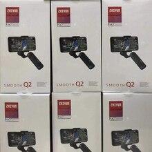 Zhiyun Smooth Q2 3 Trục Điện Thoại Thông Minh Gimbal Ổn Định Cho iPhone XS XR X 8Plus 8 7P 7 Samsung S9 S8 S7 Vs Mịn 4