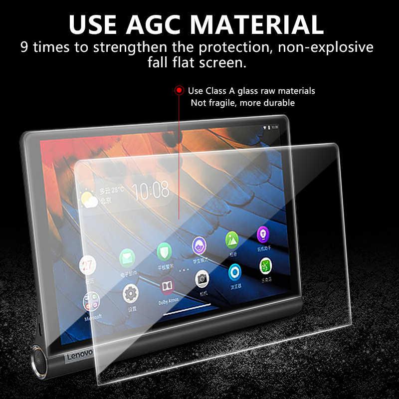Protector de pantalla de vidrio templado para Lenovo Yoga Tab5 Tab 5 YT-X705F película de protección a prueba de arañazos