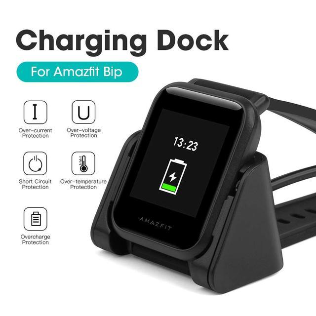 Zapasowa ładowarka magnetyczna USB do Xiaomi Huami Amazfit Bip Youth A1608 Model Smartwatch ładowarki szybka ładowarka kołyska