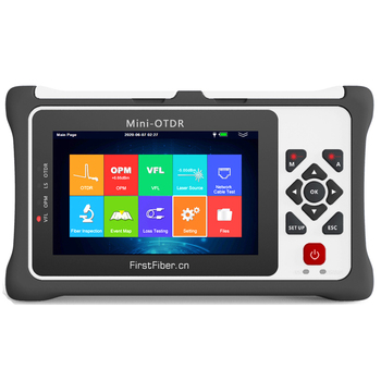 980EXT-D20SF Pro mini OTDR Reflectometer for GPON EPON Live in-service Testing  with OPM OLS VFL Touch Screen Fiber Optic - discount item  6% OFF Communication Equipment