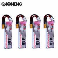4 Uds Gaoneng 7,6 V 450Mah 80C 2 HV 4,35 V Lipo batería XT30 conector JST para iFlight CineBee Cine Whoop BetaFPV Dron de carreras con visión en primera persona