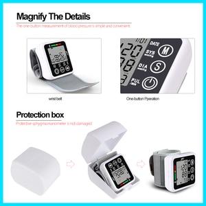 Image 4 - Ev sağlık tansiyon aleti kan basıncı ölçer monitör kalp hızı darbe taşınabilir akıllı kan basıncı ölçer JZK002R