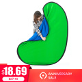 100x150CM Oval Collapsible Portable Reflector Blue And Green Screen Chromakey Photo Studio Light Reflector For Photography