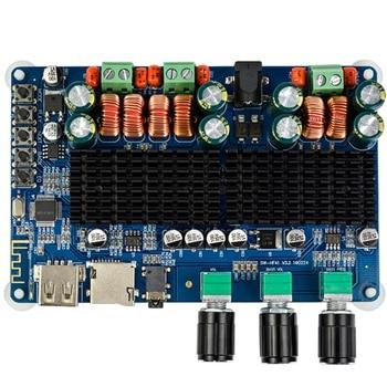 Amplifiers Audio Board Amplificador Bluetooth USB TF Decoding 2.1 Channel Digital Amplifier Board 100W DC12-26V