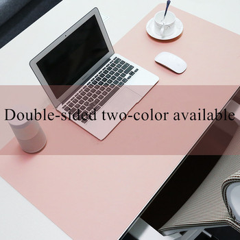 double side portable large mouse pad gamer pu leather mouse pad gaming office desk mat computer mousepad keyboard table cover Double-side Portable Large Mouse Pad Gamer PU Leather Mouse Pad Gaming Office Desk Mat Computer Mousepad Keyboard Table Cover