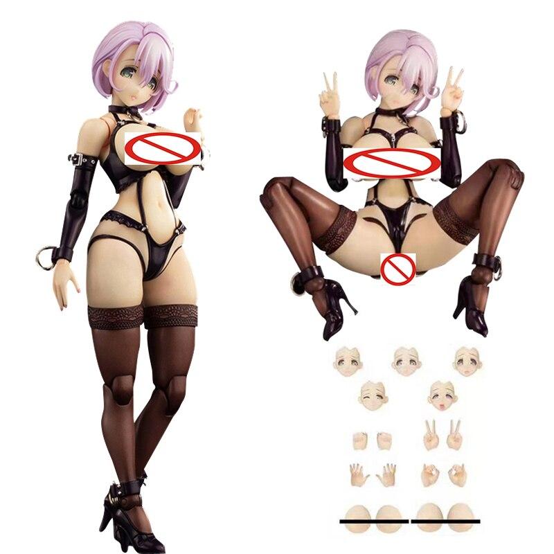 Native SECOND AXE Type HENTAI ACTION Shizue Minase PVC Action Figure Anime Sexy Girl Figure Collectible Doll For Gift