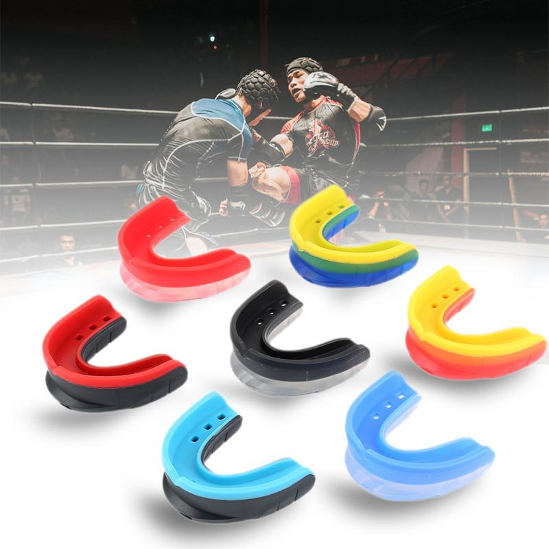 Teeth Protector Sport Mouth Guard EVA Kids Adults Mouthguard Tooth Brace Protection Basketball Rugby Boxing Karate