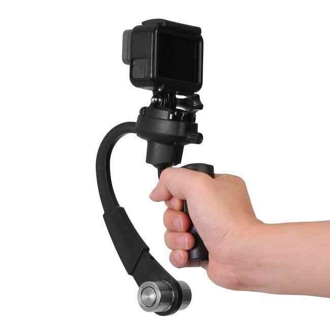 Mini Portable 3-Axis Handheld Gimbal Stabilizer Video Alloy Hand Grip for GoPro Hero3+ Hero4/5 Action Camera Sport DV