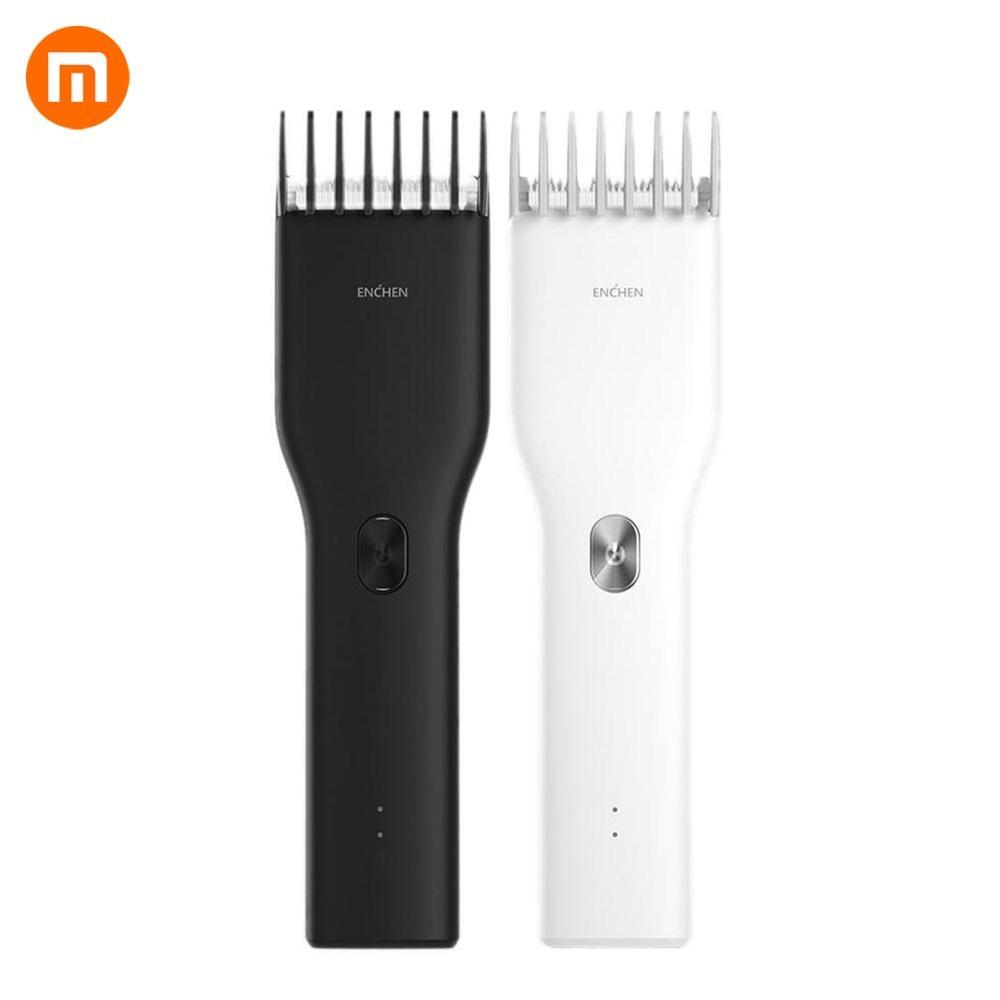 Машинка для стрижки волос Xiaomi Mi Enchen Boost, электрическая машинка для стрижки волос, двухскоростной Керамический триммер с быстрой зарядкой