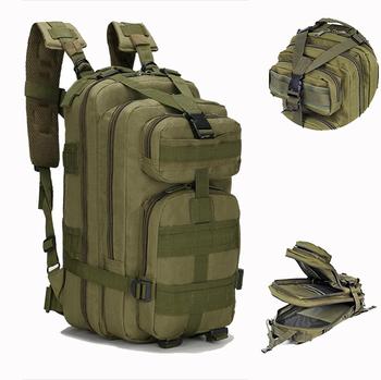 Męska taktyczna wojskowa plecak 25L wodoodporny plecak turystyczny Molle sportowa torba wojskowa Trekking na świeżym powietrzu plecak kempingowy tanie i dobre opinie WANAYOU CN (pochodzenie) 81011 Unisex waterproof Miękka osłona 600d 81011KING 20 cm * 25 cm *40 cm 7 8 x 9 8 x 15 7