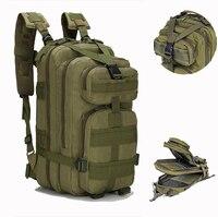 Mochila Molle impermeable para hombre, Mochila Táctica Militar de 25-30L, bolsa de viaje deportiva, Trekking al aire libre, Camping, Ejército