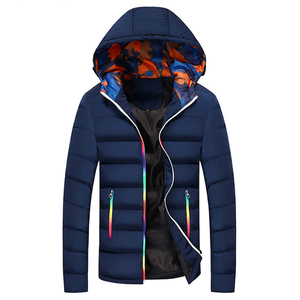 Image 3 - Winter Jacket Men Hooded Thick Warm Duck Down Parka Coat Mens Casual Slim Jacket Male Overcoat 2020 New Fashion Parkas Plus 5XL