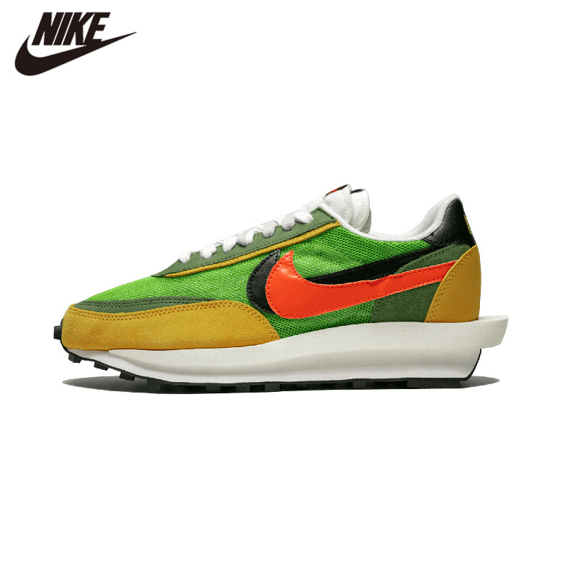 2019 New Sacai X Nike LD Waffle VARSITY Blue Green GUSTO Multi Daybreak Blazer Mid Dunk Womens Running Shoes BV0073-300