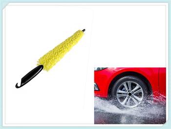 Car accessories Wheel tire rim cleaning brush Frosted Tire wash for Toyota FJ Cruiser RAV4 CROWN VIOS LAND CRUISER image
