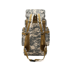 Cross-border exclusive high quality backpack large capacity 80L camouflage outdoor travel mountaineering bag