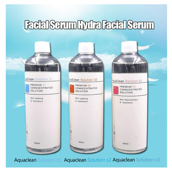 Four Bottles Aqua Peeling Solution Skin Clean Essence Product Serum for Hydra Facial Skin Deep Cleaning