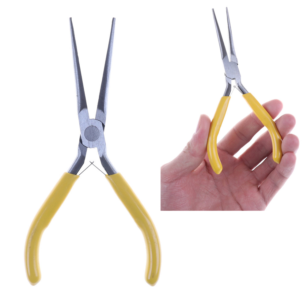 Mini Jewelry Pliers DIY Jewelry Tools & Equipments Long Nose Plier Multi Tool Forceps Repair Hand Tools Needle Nose Pliers
