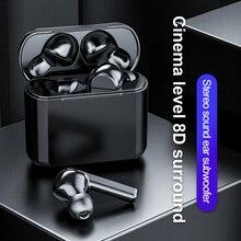 TWS A12 Wireless Earbuds Earphones 5.0 Bluetooth Headphones with Microphone 3D S