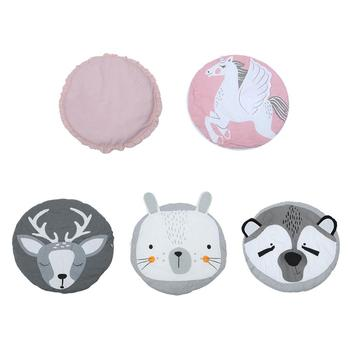 Cartoon Animal Baby Kids Game Gym Activity Play Mat Soft Cotton Pad Crawling Blanket Floor Rug for Toddlers Kids baby gym play mat rug living room non slip game blanket cartoon baby crawling mat baby kids gym activity game play mat