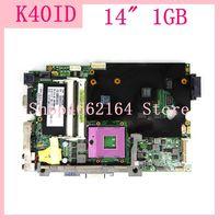 Motherboard Para ASUS K40ID K40ID K40ID K40I X8AI K40IE K40ID A41I Laptop Motherboard Motherboard K40ID REV2.1 Mainboard Testado