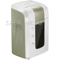 7128 electric shredder A4 office household commercial high power paper machine paper waste paper card breaker 40 minutes 16L|Shredder|   -