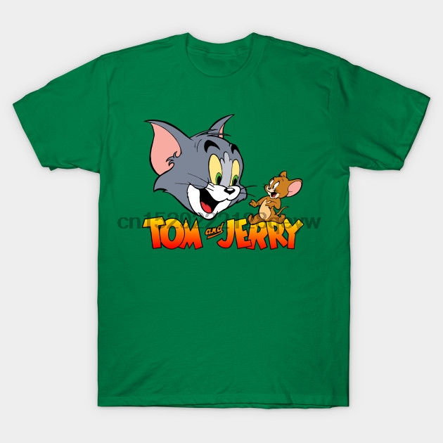 Officially Licensed Tom /& Jerry Vintage Comic Men/'s T-Shirt S-XXL Sizes