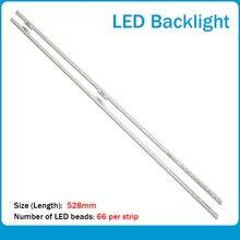 Новые светодиодные ленты для подсветки 2 шт/компл samsung sts480a20