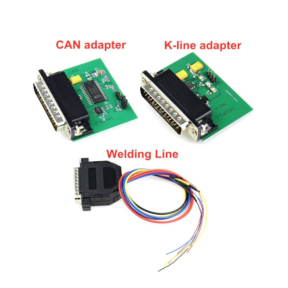 Adaptery Iprog spawanie + K-LINE + adapter CAN dla IPROG + IProg Pro programator iProg