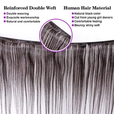 Bling Hair 10 Bundles Deals Brazilian Hair Weave Bundles Straight Human Hair Bundles Remy Extensions Natural Color Free Shipping Lahore