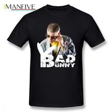 Bad Bunny Cool Summer T Shirt Car Styling T-shirts Cotton Crewneck Oversize Short Sleeve Custom Men T-shirt
