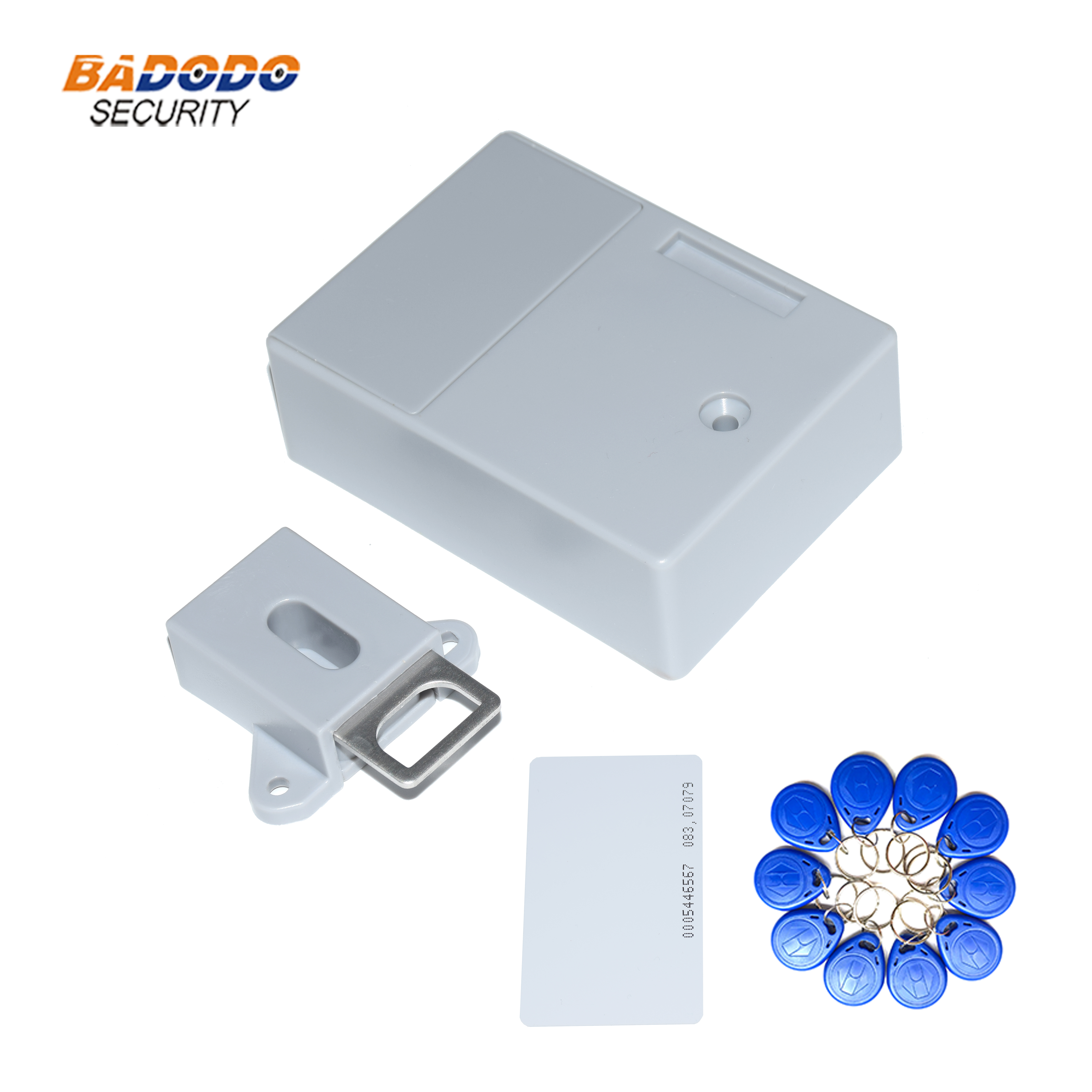Cabinet Lock Drawer RFID Invisible Id-Card Electric 125khz EM title=