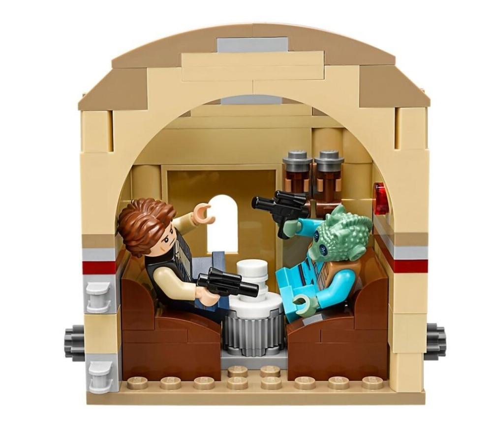Bela 10905 Star Wars Series Mos Eisley Cantina Building Block 400pcs Bricks Toys Compatible With Bela 75205 Star Wars
