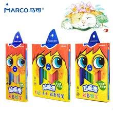 Marco 36 шт цветной карандаш нетоксичный lapis de cor профессиональные