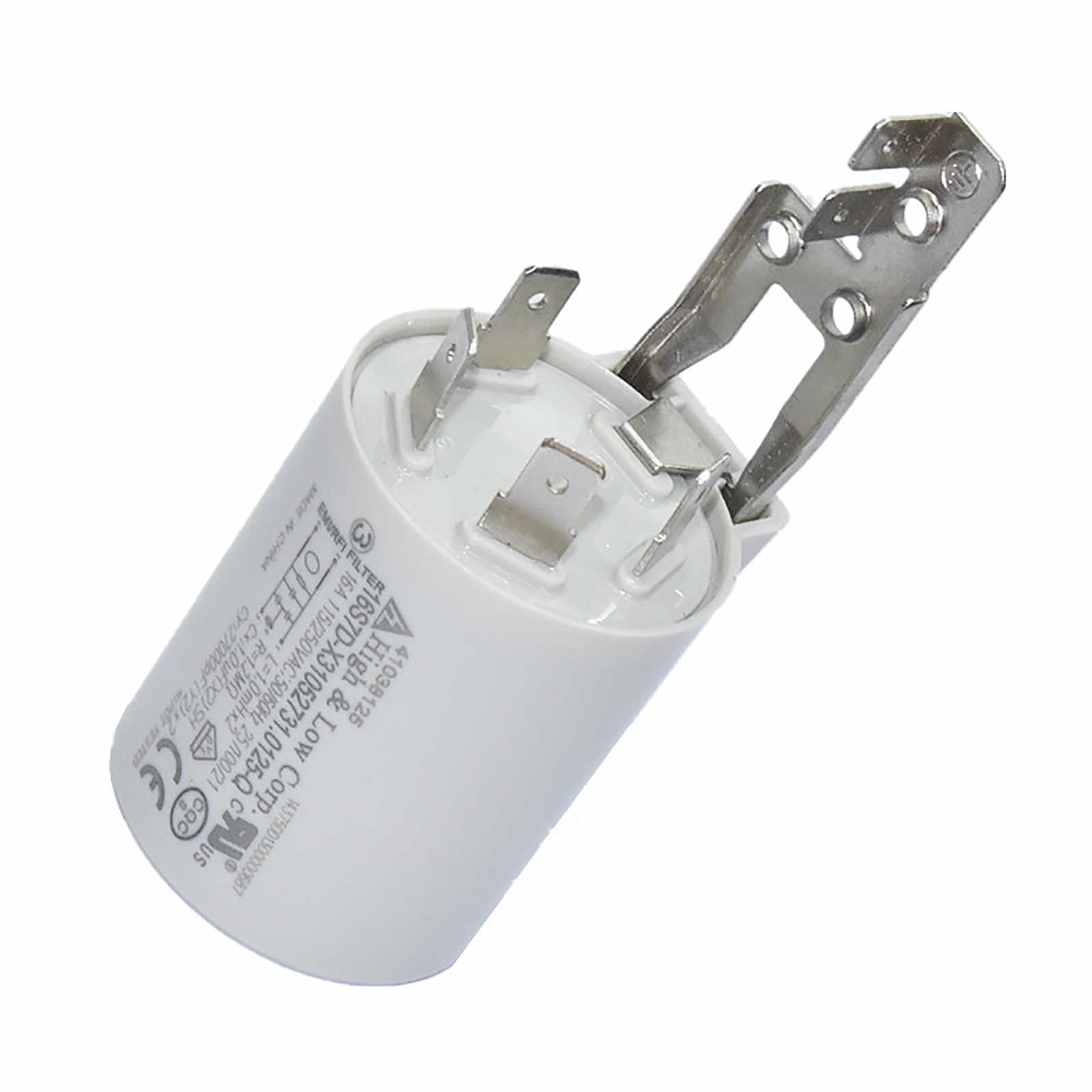 F4338-2//0024000247 Washing Machine Filter Interference Suppressor Capacitor 16A