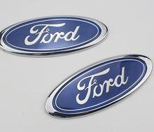 Moda nova frente do carro principal marca frente rosto grille carro frente e de volta padrão para ford logotipo 2 3 4 5 mk2 mk3 mk4 mk5 ranger