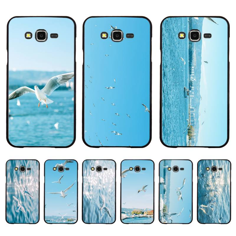 Babaite Seagull <font><b>Seabirds</b></font> summer seaside Silicone Phone <font><b>Case</b></font> for Samsung A50 A70 A40 A6 A8 Plus A7 A20 A30 S7 S8 S9 S10 S20 Plus image