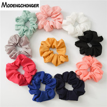 Elastic Headband Hair Rubber Bands Pure Color Scrunchie Hair Tie Hair Rope Ponytail Holder Gum For Women Girls Hair Accessories