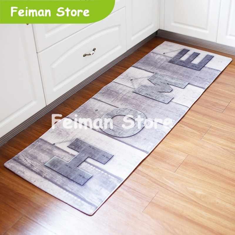 60 × 180 センチメートルヨーロッパホーム床マット敷物キッチンカーペットラウンドラグリビングルームの寝室浴室玄関マット廊下